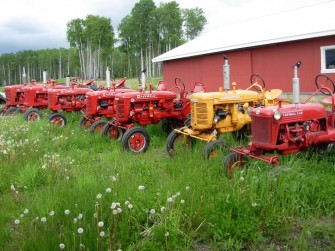 Grandpa's Antique Tractor Collection