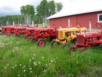 Grandpa's Antique Tractor Collection