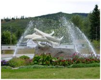 Steelhead Fountain