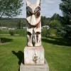 Come by Steelhead Park to observe this beautiful totem pole!